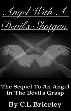Angel with a devil's shotgun by CLBrierley