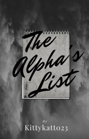 The Alpha's List by Kittykatt023