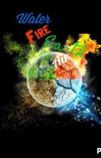 Water, Fire, Earth, Air by Paintysplat