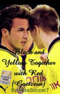 Black and Yellow Together with Red (Goetzeus) cover