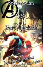 Spider man VS percy Jackson by jamiebarnes0019