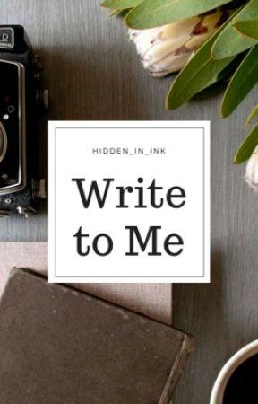 Write to Me (Boyxboy) Student/Teacher by Hidden_In_Ink