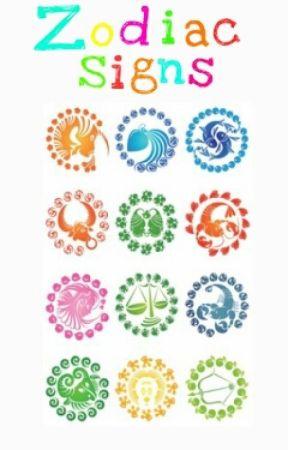 Zodiac signs by SeriaRose