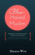 Blue-Haired Muslim by HelenaWon