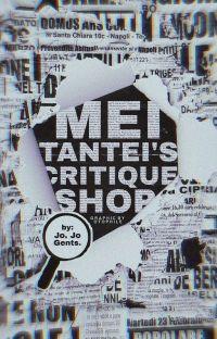Meitantei's Critique Shop  cover