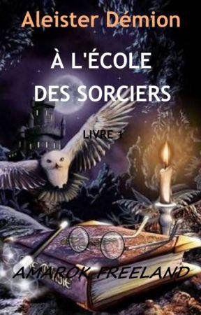 ALEISTER DÉMION À L'ÉCOLE DES                        SORCIERS by Amarok_Freeland