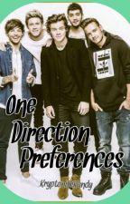 One Direction Preferences by KryptoniteKandy