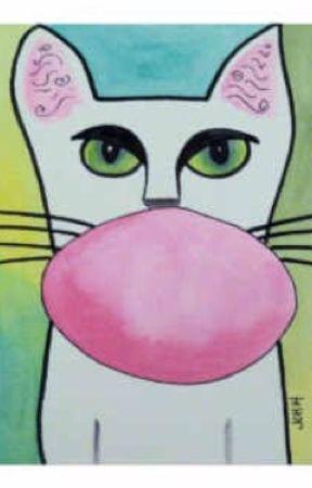 El gato chicle! by ilove_my_pride