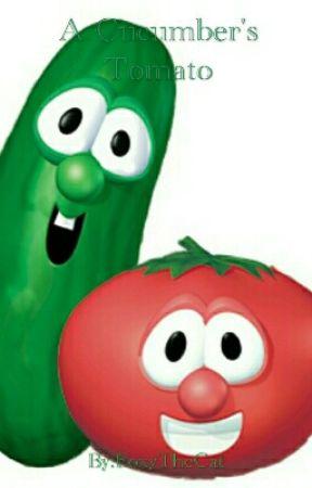 A Cucumber's Tomato (Veggie Tales Larry x Bob) by SharkSnuggles