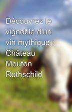 Découvrez le vignoble d'un vin mythique : Château Mouton Rothschild by coat6wrist