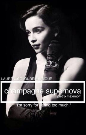 Champagne Supernova {Pietro Maximoff*Sequel to Wonderwall} by colouredhumour