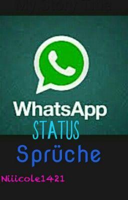 Status krank whatsapp sprüche Lustige Whatsapp
