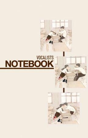 Notebook | Park Jimin by vocalists