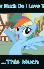 Mlp Rainbow Dash x Reader(Mare,Pegasus) by MarinaParryJones