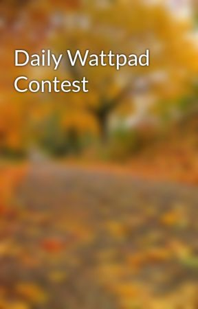 Daily Wattpad Contest by DailyComps