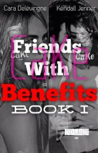 Friends with Benefits (cara delevingne and kendall jenner) cake *COMPLETED cover