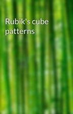 Rubik's cube patterns by bpodolski