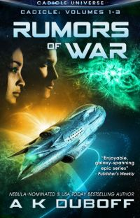 Rumors of War (Cadicle Vol. 1-3: An Epic Space Opera) cover