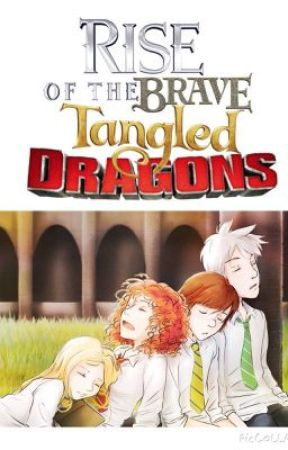 Rise Of The Brave Tangled Dragons by inkuroosarms