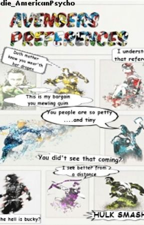 Avengers Preferences by Andie_AmericanPsycho