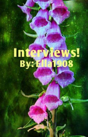 Interviews! by Mercedes1908