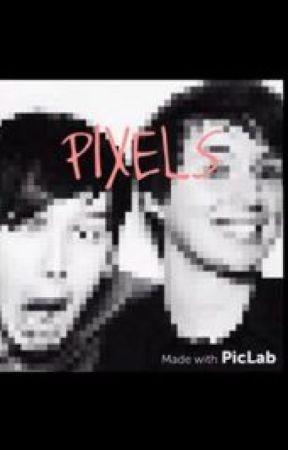 Pixels || phan by nmbr1phantrash