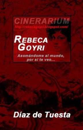 REBECA GOYRI. Asomándome al mundo, por si te veo... by DiazdeTuesta