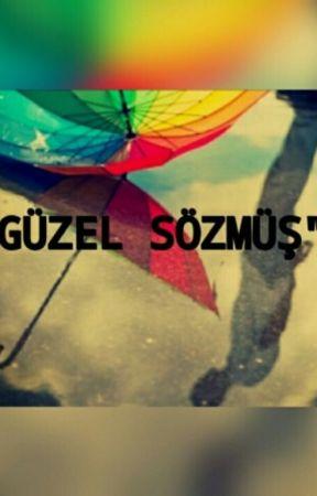 GÜZEL SÖZMÜŞ by hayalperestiz123