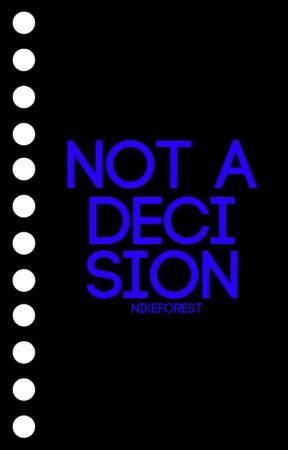 Not A Decision ✓ by aniallators