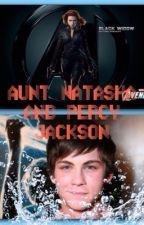 Aunt Natasha and Percy Jackson by SamiRose18