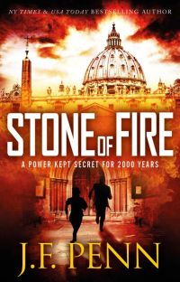 Stone of Fire: An ARKANE Thriller (Book 1) cover