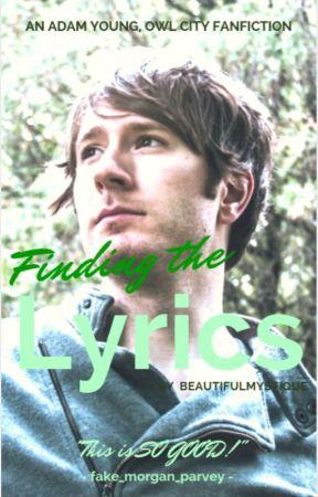 Finding the Lyrics(Adam Young Fan Fiction) by BeautifulMystique