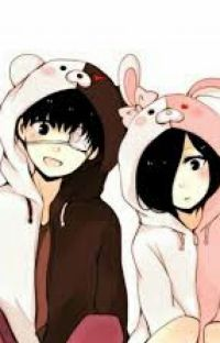 The Eyepatch and the Rabbit (Touka x Kaneki fanfiction) cover