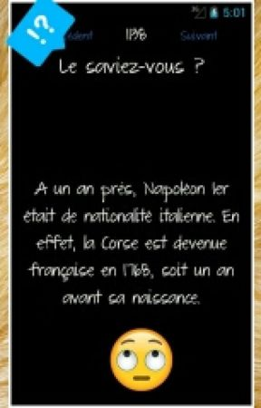 Le saviez-vous? by Nalu54