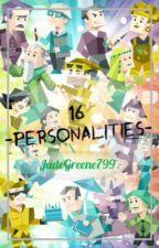 16 Personalities MBTI by JadeGreene799
