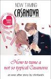Now Taming: Casanova - Book 2 (FIN) cover