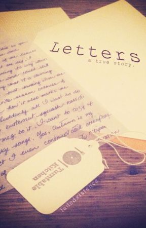 Letters by fadedxistence