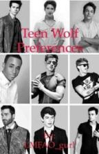 Teen Wolf Preferences by LMFAO_gurl
