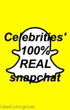 Celebrities' Snapchat by lukesfuckingnose