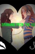 Drinking from the bottle! (Bechloe) by DisRandomFan