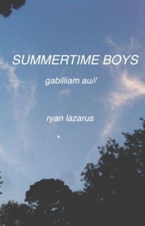 summertime boys // gabilliam by pixieboy
