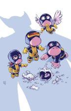 X-Men X Baby!Reader by BlueFuzzyElf