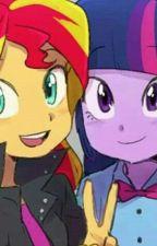 You're my SunLight ( Sunset Shimmer x Twilight Sparkle ) My Little Pony by littlegaylemon
