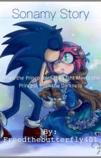 When a Prince from the Light meets a Princess from the Darkness (Sonamy story) by Freedthebutterfly401