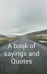 A book of Sayings and Quotes cover