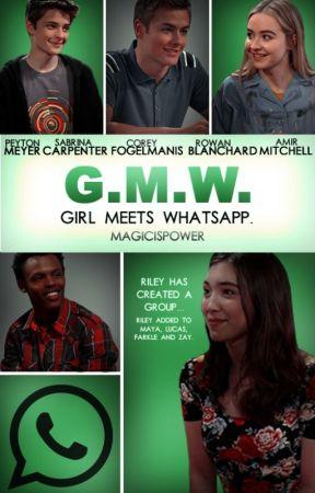 Girl Meets Whatsapp. |Lucaya & Riarkle by magicispower