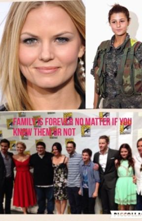 Ouat cast and military family by ouatandblindspot