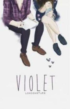 Violet || H.S [Arabic Translation] by Noura_Mohamed