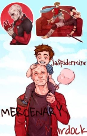 Mercenary and Murdock (Spideypool Adoption) by Jaspi-Lulu