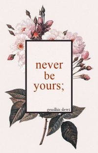 Never Be Yours cover